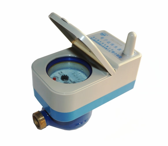 LORA remote valve water meter