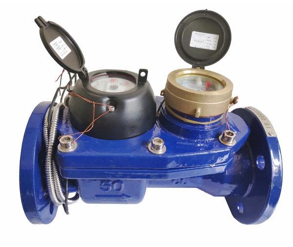 Duplex messaging water meter